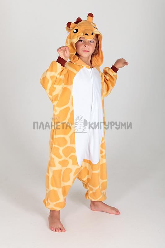 Кигуруми Жираф для детей - купить детскую пижаму Жираф в Москве ... 9d90b7006a9ed