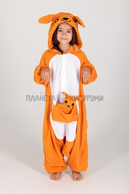 Кигуруми Кенгуру для детей - купить детскую пижаму Кенгуру в Москве ... f5a6002550c07