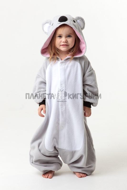 Кигуруми Коала для детей - купить детскую пижаму Коала в Москве ... 11f77a5006dad