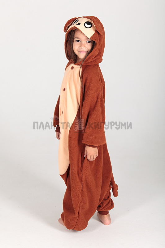 Кигуруми Обезьянка для детей - купить детскую пижаму Обезьянка в Москве 2f58f5ca2f8b4