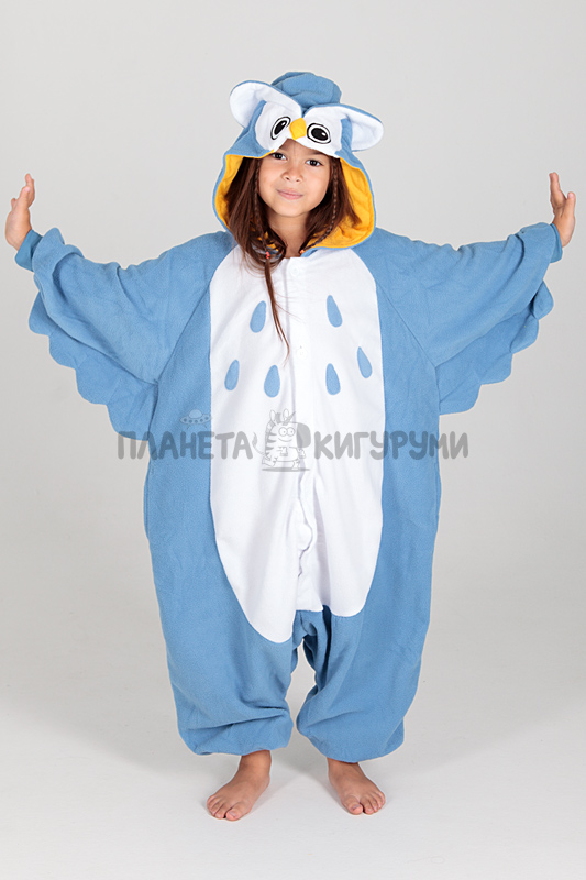 Кигуруми Сова для детей - купить детскую пижаму Сова в Москве 3876884a6ccbb