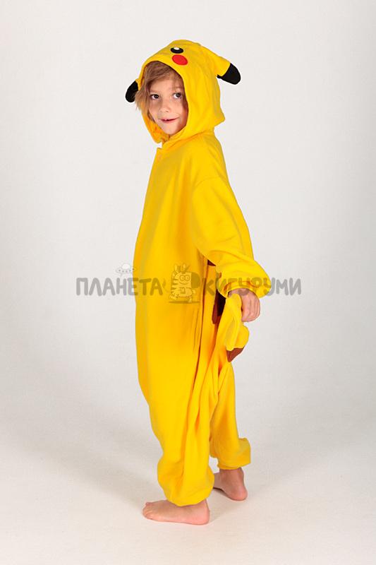 Кигуруми Пикачу для детей - купить детскую пижаму Пикачу в Москве 20b9297be74dd