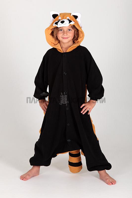 135f6b2ac Кигуруми Красная панда для детей - купить детскую пижаму Красная ...