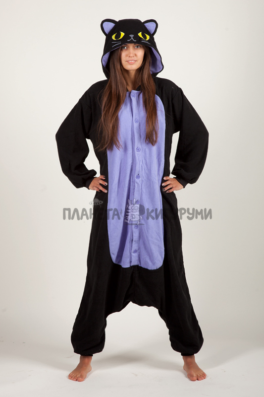 Кигуруми Ночной кот - купить пижаму Ночной кот в интернет магазине ... db6364c88a2c8
