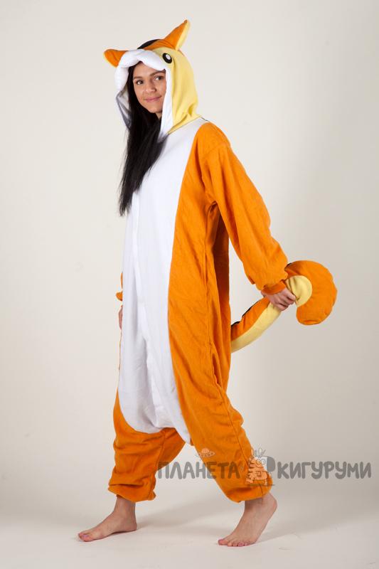 Кигуруми Гизмо - купить пижаму Белка для взрослых в интернет ... d59e20664f6c3