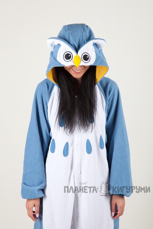 Кигуруми Сова - Купить в Москве пижаму голубая Сова. Интернет ... 2a2f5741a2a2a