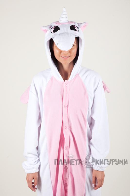 Купить Кигуруми Пегас Единорог розовый в интернет магазине planeta ... b5ed7b5fb0115