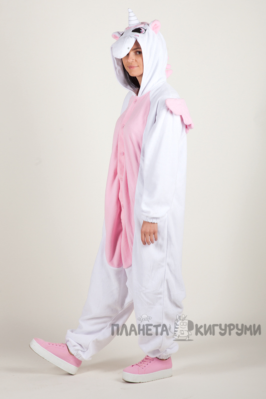 Купить Кигуруми Пегас Единорог розовый в интернет магазине planeta ... 508f436fb3930
