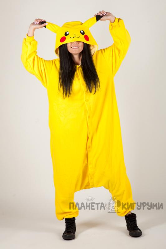 Кигуруми Пикачу - купить пижаму Пикачу в Москве по лучшей цене в ... db96df4e5b35f