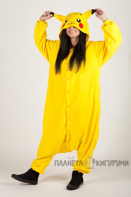 Кигуруми Пикачу - купить пижаму Пикачу в Москве по лучшей цене в ... ac2bcfc63b688