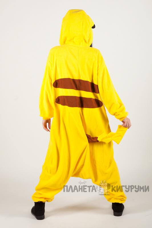 Кигуруми Пикачу - купить пижаму Пикачу в Москве по лучшей цене в ... 3ff875f28c0d1