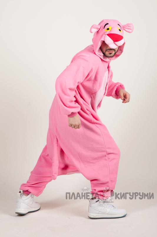 Купить недорого пижаму кигуруми Розовая пантера в магазине Планета ... 7ff61711c692b