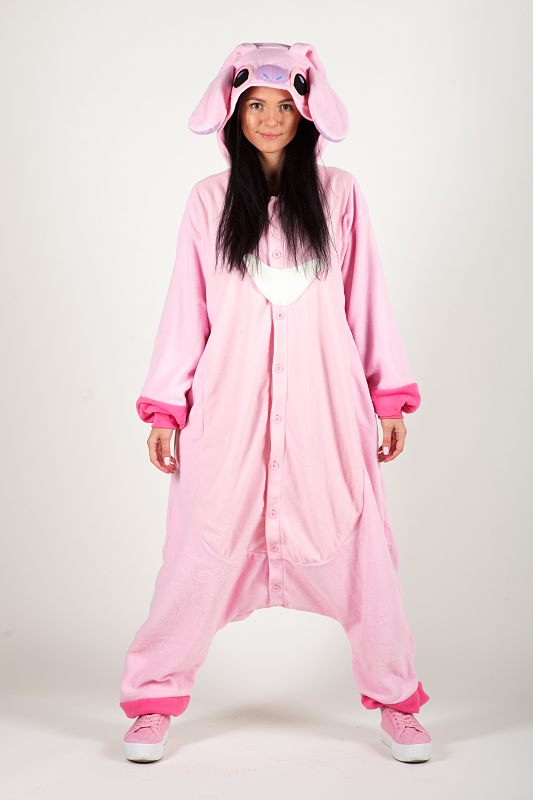 Кигуруми Ангел - Купить в Москве пижаму розовый Ангел. Интернет ... 07e71679c2e12