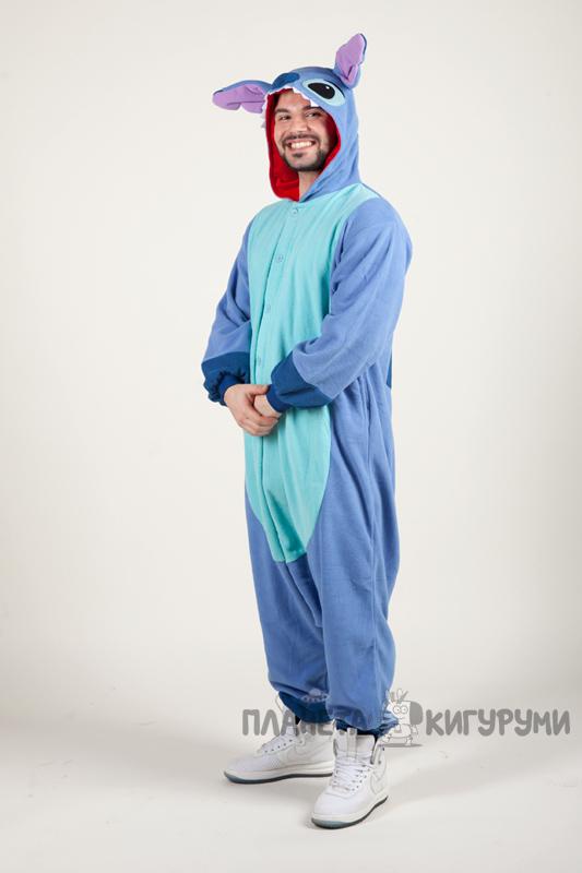 Купить Пижаму-кигуруми Стич в интернет-магазине - Планета кигуруми ... bc7067640797f