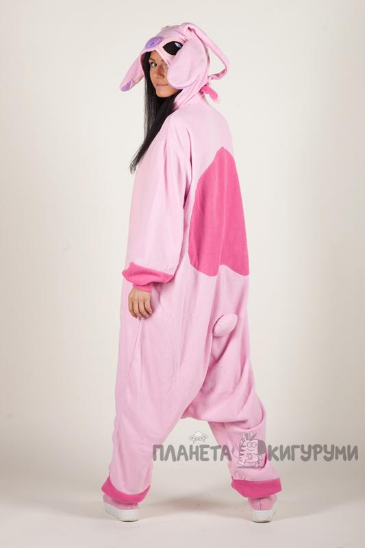 Кигуруми Ангел - Купить в Москве пижаму розовый Ангел. Интернет ... 04eb80527bc8f