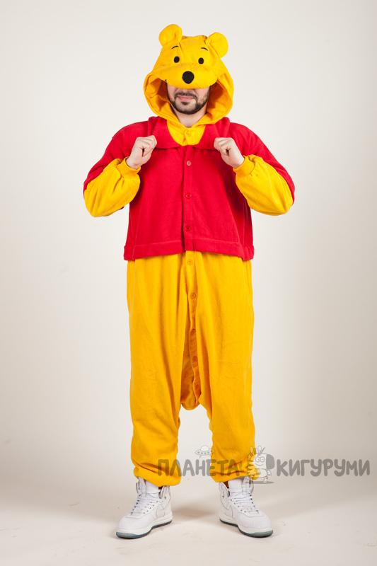 Кигуруми Винни Пух - купить в Москве пижаму Винни Пух. Лучшая цена ... 55ff719b765bd